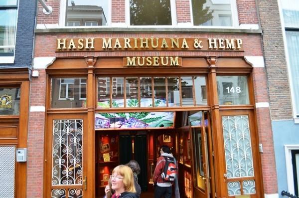 Marihuana ေဆးေျခာက္ Museum ပံု ။