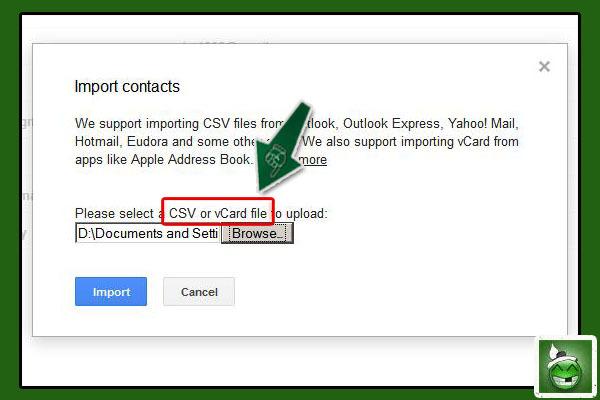 ဒီလိုမ်ိဳး ေပၚလာတဲ့အခါ သူငယ္ခ်င္း ဆီက ရယူထားရမယ့္ Group Mail ဖိုင္ေလးကို ေရြးေပးၿပီး Import ဆိုတာကို ႏွိပ္လိုက္ပါ။ ဒီအခါ Group Mail တစ္ခု ကိုယ့္ထဲကို ေရာက္လာပါလိမ့္မယ္။