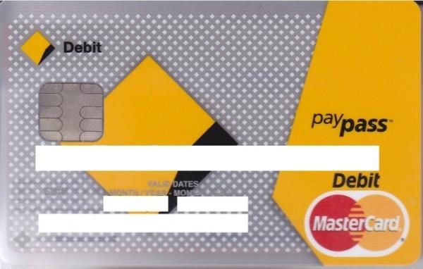 Debit Master Card မွာ SIM Card ေလး ပါလာတာကို ၾကည္႕ၾကပါ ။